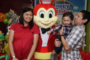 So Happy to be with Jollibee