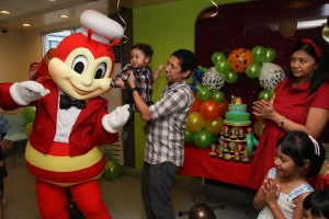 Still Happy to be with Jollibee